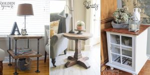 DIY Side & End Table Plans