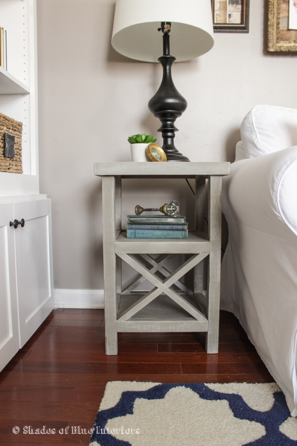 DIY Small X End Table