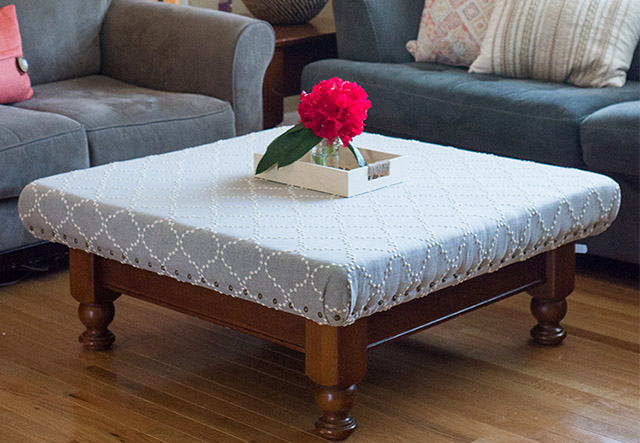 DIY Stylish Ottoman