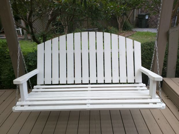 DIY Wooden Porch Swing by Instructables