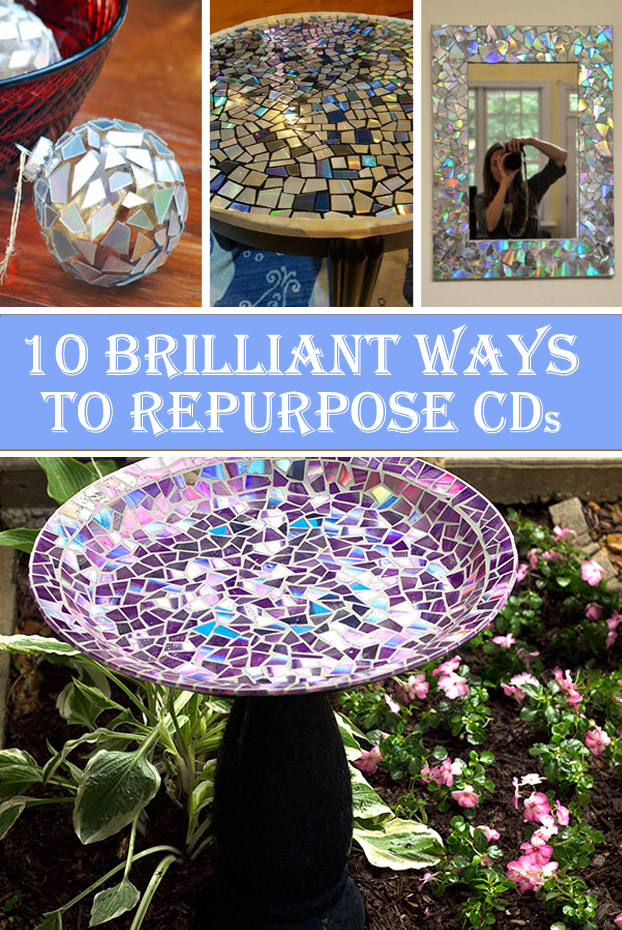 10 Brilliant Ways to Repurpose CDs