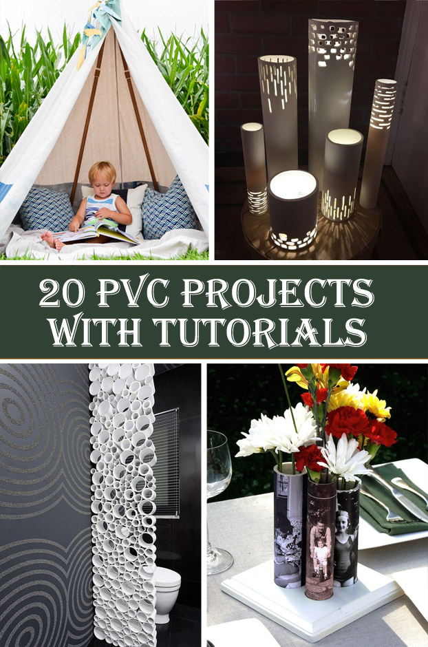 20 Brilliant PVC Projects with Tutorials