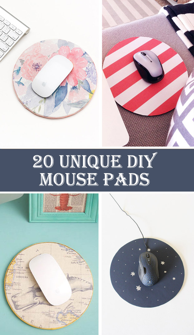 20 Unique DIY Mouse Pads