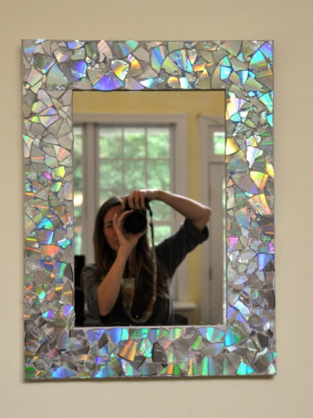 DIY CD Mirror