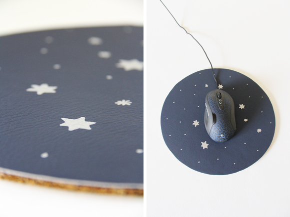 DIY Constellation Star Mouse Pad