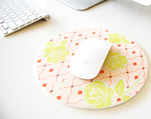 DIY Covered Mousepad