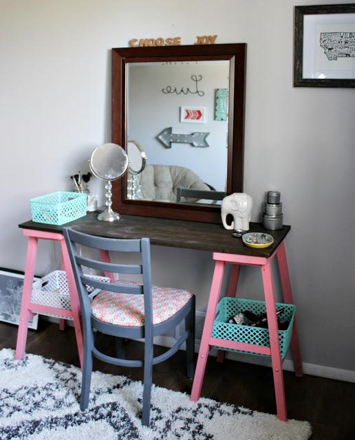 Marvelous 20 Beautiful Diy Makeup Vanity Diys To Do Andrewgaddart Wooden Chair Designs For Living Room Andrewgaddartcom