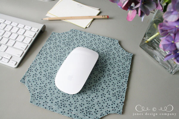 DIY Mouse Pad from JonesDesignCompany