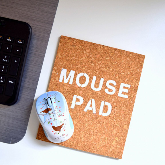DIY Mouse Pad from NorthStory