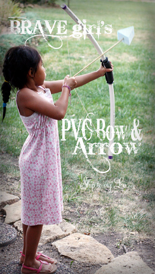 DIY PVC Bow