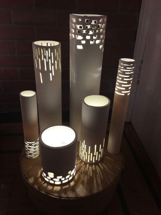 DIY PVC Pipe Lights