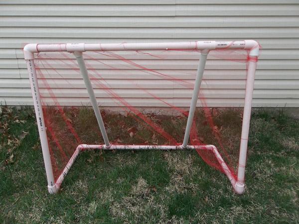 DIY PVC Pipe Soccer Goal