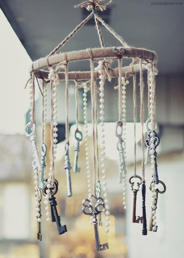 DIY Shabby Chic Wind Chime