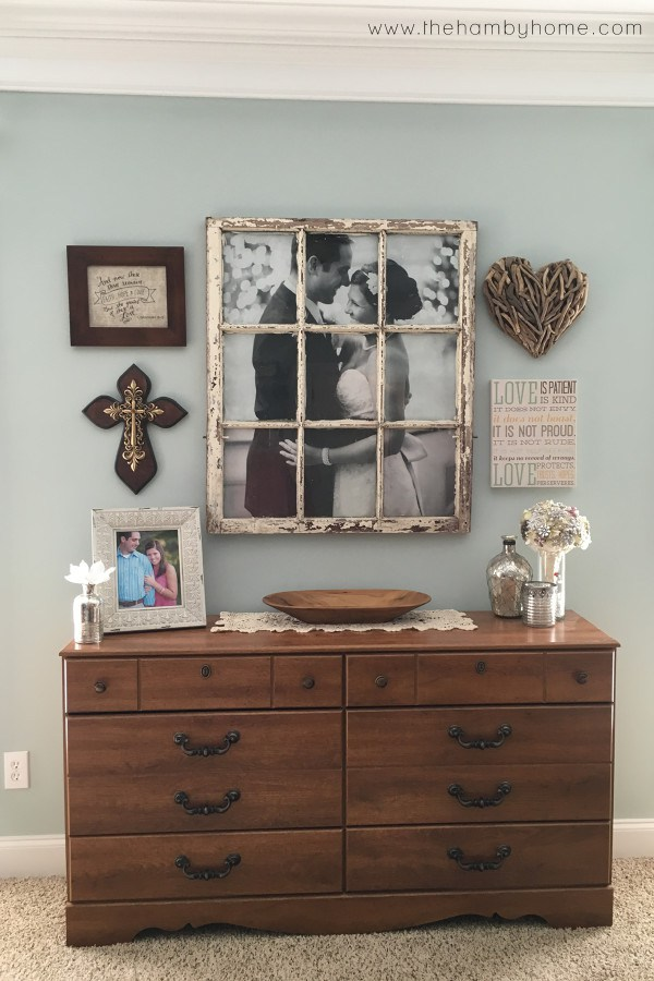 DIY Wedding Window