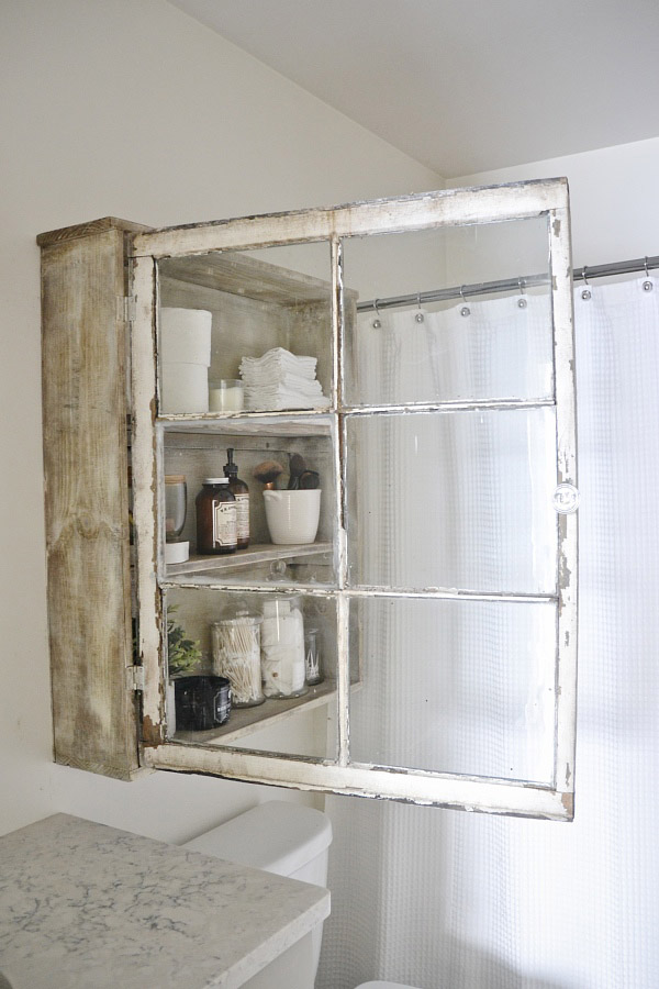 DIY Window Cabinet
