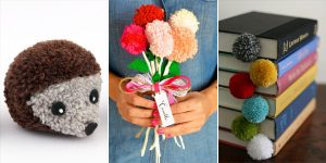 10 Awesome DIY Pom Pom Crafts
