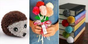 10 Awesome DIY Pom Pom Crafts