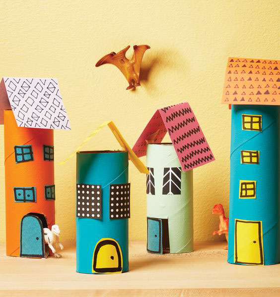 DIY Mini-Paper City