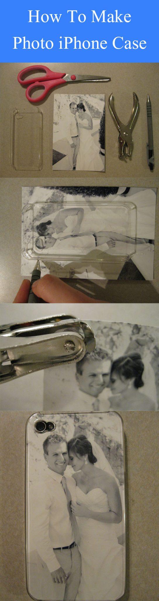 DIY Photo iPhone Case