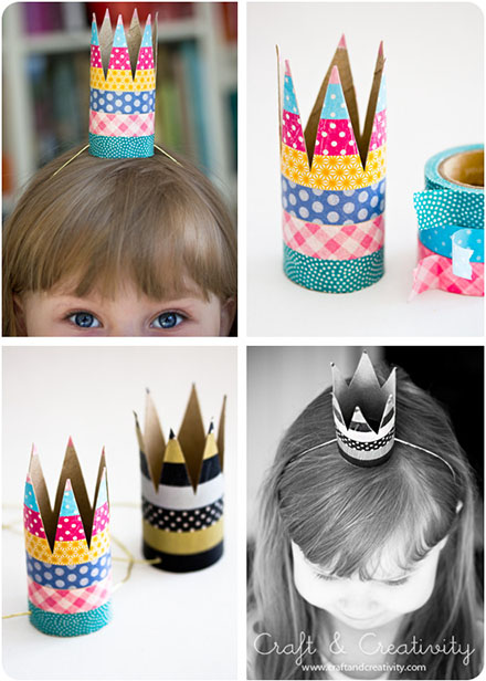 DIY Simple Party Crown