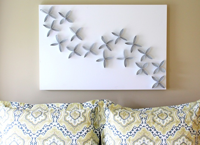 DIY TP Roll Wall Art