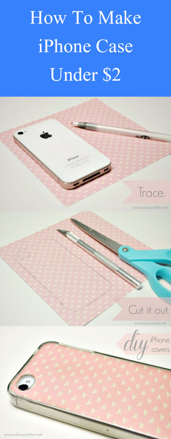 DIY iPhone Case Under $2