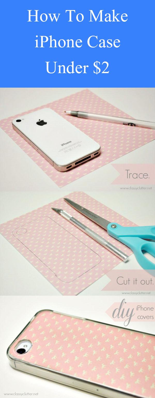 DIY iPhone Case Under $2