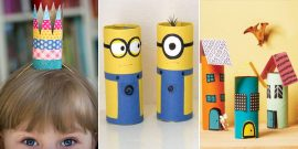 20 Toilet Paper Roll Crafts