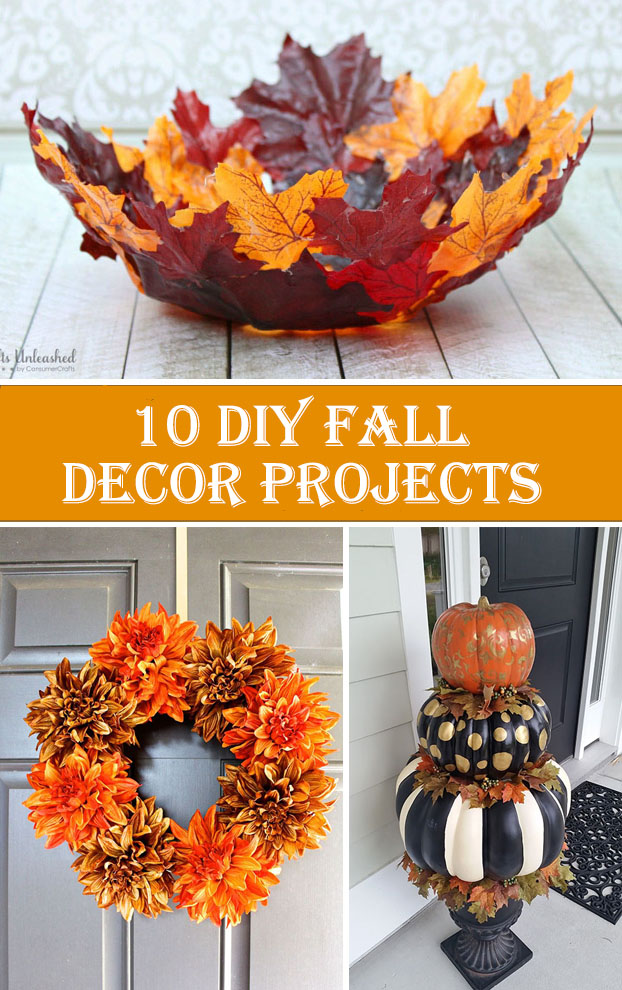 10 diy fall decor projects diys to do for Fall diy crafts pinterest