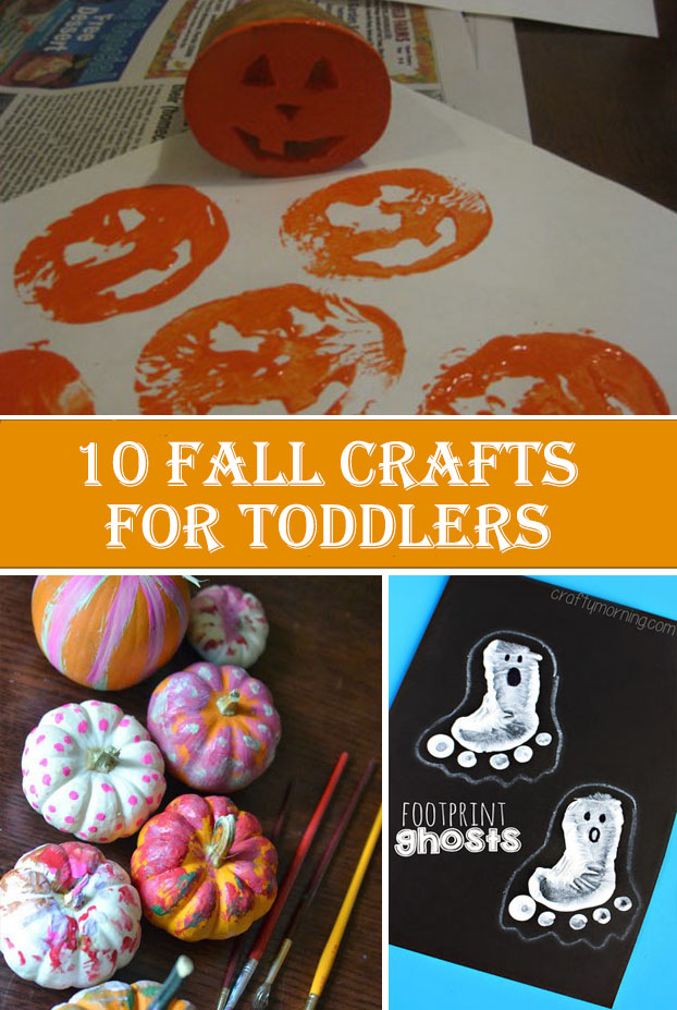 10 Fall Crafts For Toddlers Diys To Do