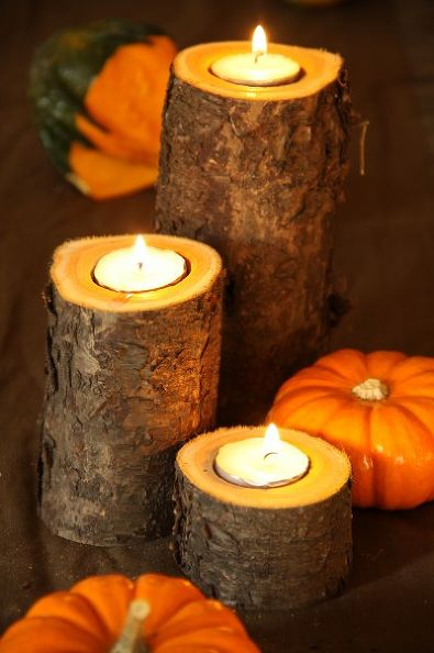 DIY Fall Candles