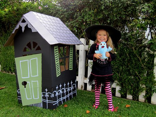 DIY Haunted House for Pint-Sized Witches & Ghosts