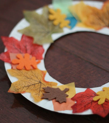 Fall Wreath For Toddlers